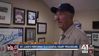 Former MLB pitcher gets successful heart surgery - Video