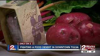 Organic food delivery expands to Downtown Tulsa offices - Video