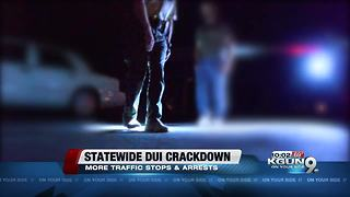 Statewide DUI enforcement heading into holidays - Video