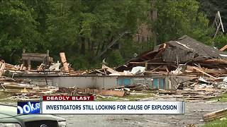 Investigators still looking for cause of house explosion in East Cleveland - Video