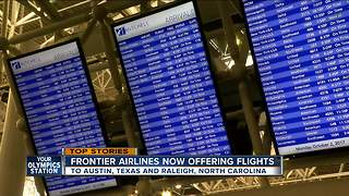 Frontier Airlines offering more flights out of Milwaukee - Video