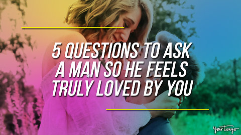 5 Questions To Ask A Man To Make Him Feel Truly Loved By You