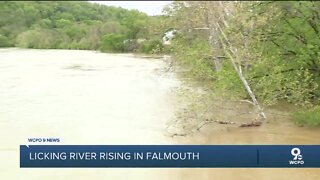 Falmouth residents return home after flooding prompted evacuations