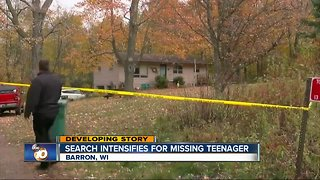 Search for missing Wisconsin teen intensifies