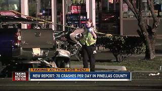 New Report: 70 crashes per day in Pinellas County - Video