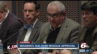 Legal challenge filed in Carmel mosque decision - Video