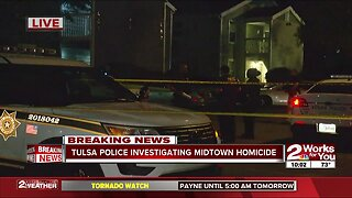 Tulsa police investigate fatal stabbing in midtown