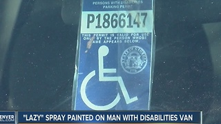 A Lakewood man with disability finds the word