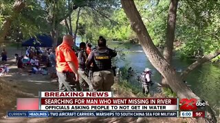 Crews Searching for man missing in Kern River