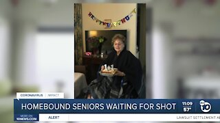Homebound seniors who called 211 are still waiting to be vaccinated
