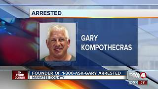 Founder of 1-800-Ask-Gary Arrested - Video