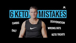 6 KETO MISTAKES  that are ruining weight loss goals. Living a LOW CARB lifestyle