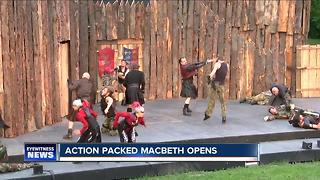An action packed Macbeth opens in Delaware Park - Video