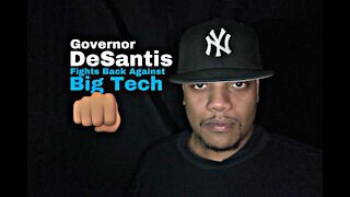 Shout-Out To Governor Ron DeSantis For Fighting Back Against Big Tech! 👊🏽 #TheFloNightShow