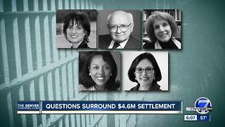 Questions surround Denver's $4.6M settlement - Video