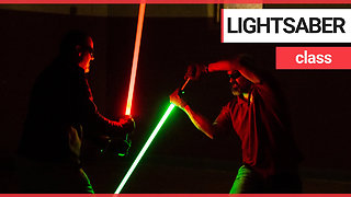 Star Wars fan launches lessons teaching people the art of lightsaber fighting