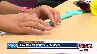 Training helps students deal with trauma at school - Video