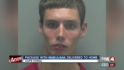 Package with Marijuana Delivered to Cape Coral Home