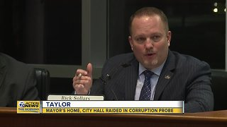 Taylor mayor's home, city hall raided in corruption probe