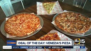 Deal of the Day: Get half off at Venezia's Pizza - Video