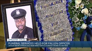 Funeral service held for fallen DPD officer