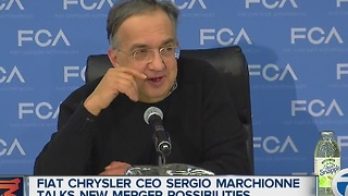 Fiat Chrysler CEO Sergio Marchionne talks new merger possibilities - Video