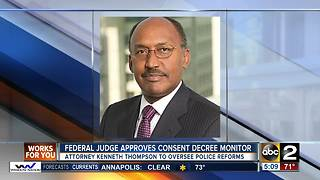 Federal Judge approves consent decree monitor - Video