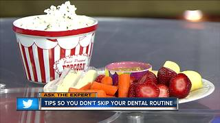 Tips so you don't skip your dental routine - Video