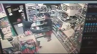 Surveillance video: Rose Supermarket robbery 6/10/17 - Video