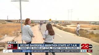 2nd Bakersfield Marathon November 12th - Video