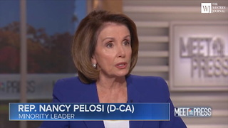 Nancy Pelosi Says John Conyers Deserves Due Process But Roy Moore Is a Child Molester - Video