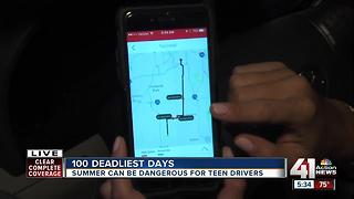 Apps to help teens during deadly driving season - Video