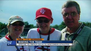 Wisconsin athletes training for Special Olympics USA games - Video
