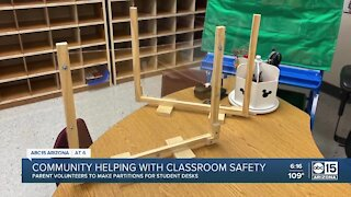 Community helping with classroom safety