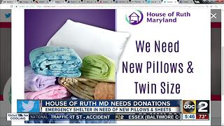 House of Ruth in Maryland is seeking donations - Video