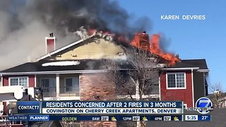 Looking for answers after major fires at Denver apartments