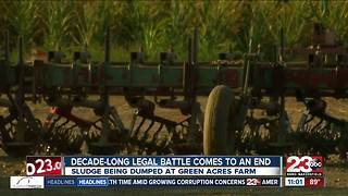 Decade-long legal battle over sludge comes to an end - Video