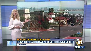 Making it in San Diego: Trade School teaches adults skills for good paying jobs
