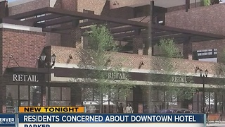 Parker residents feel 'ignored' by the city council over hotel development - Video