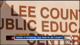 Lee School Board defends tax increase - Video