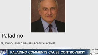 Paladino comments cause community backlash - Video