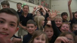 Andy Parker's Weather Machine Visits Queen of Heaven