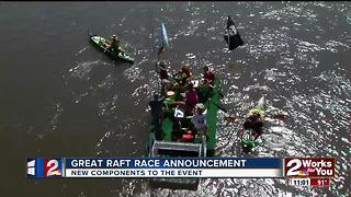 The Great Raft Race announces new additions to this year's race - Video