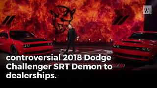 Controversial Dodge Demon, 'World's Fastest Quarter-Mile Production Vehicle,' Now Shipping to Dealers - Video