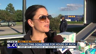 WMAR partners with House of Ruth Maryland to help 'Fill the House' - Video