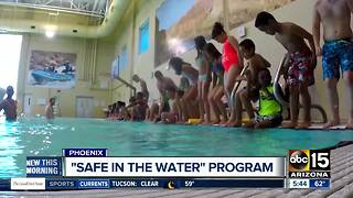 Valley students learning importance of water safety