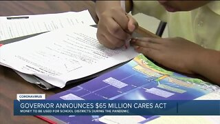 Gov. Whitmer sending $65 million in CARES Act funding to Michigan schools