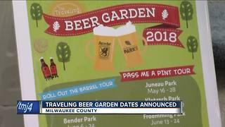 Traveling Beer Garden 2018 dates announced - Video