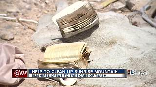 Homeowners upset about trash in Sunrise Mountain area - Video