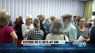 Meeting about the future of F-35's at Davis-Monthan Air Force Base - Video